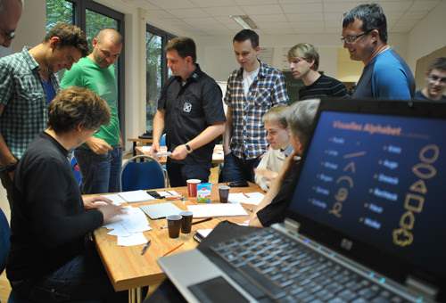 Workshop bei der Spartakiade